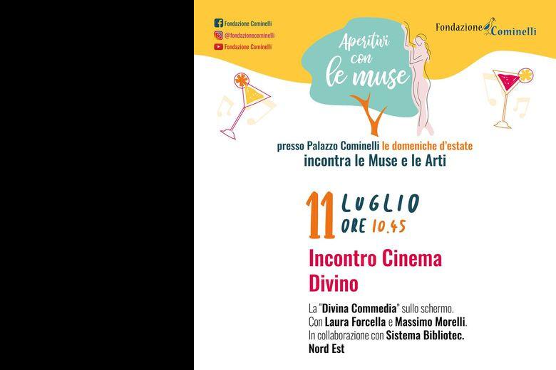 Incontro Cinema Divino a Palazzo Cominelli